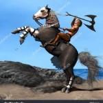 Rev 9 rearing horse